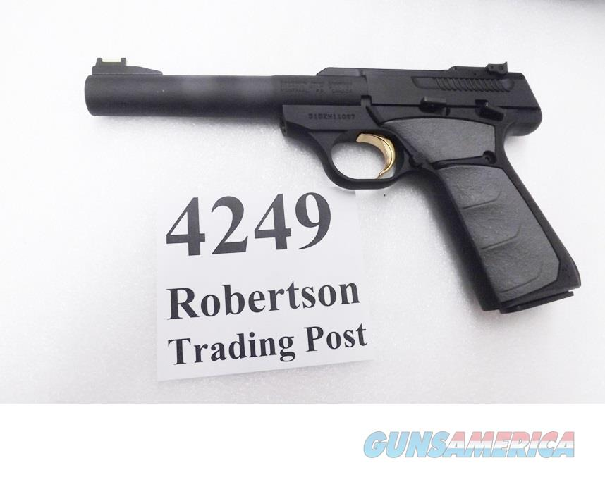 Browning 22 Lr Buckmark Camper Pistol 5 12 In For Sale