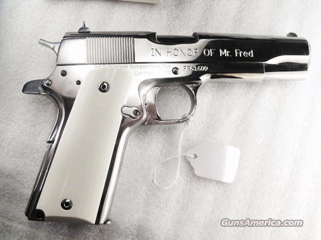 Colt Government Grips 1911 Hogue Imitation Ivory 45 Autos etc GR45020