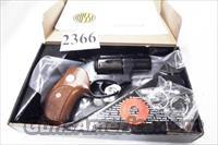 Rossi .357 Magnum model 461 Blue Steel 2 inch 6 Shot Excellent in Box Factory Demo Walnut Grips Discontinued S&W K Colt D Frame type R46102U