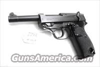 Walther 9mm P38 variant P1 Lightweight Military 1964 P-1 German Federal Border Guard BGS P-38 Descendant CA OK with 1 Factory 8 Shot Magazine