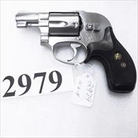 S&W .38 Special model 649 Bodyguard Stainless 1986 Production 2nd Year No Suffix Very Good Pachmayr SJCP 103751 38 spl