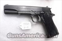 Star 9mm Model B Colt Government Size Steel Frame 1966 Israeli Police & Spanish Guardia GVG 1 Factory Magazine Spain