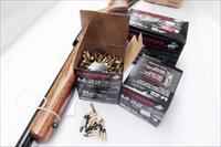 Ammo: .22 LR 2000 round case Winchester Olin M22 AR Platform 1255 fps 40 grain Black Bullet Copper Coated Lead Cannelured 22 Long Rifle Ammunition Cartridges 40 Box Equivalent $3.98 per box rate S22LRT