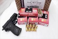 Ammo: .357 Sig 200 Round Lot of 4 Boxes 4x$27 124 grain FMC Fiocchi 357 Sig Sauer Caliber Full Metal Case Jacket Ammunition Cartridges fc357SIGAP