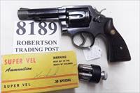 Smith & Wesson .38 Special Model 10-6 Heavy Barrel D756000 range 4 inch 1975 Montreal Police Department Blue with Magna Grips G-VG Refinish Condition