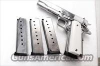 Colt 1911 Government .45 ACP ACT-Mag 8 round Nickel Magazines 1911GN458 New Nickel 45 Automatic Govt Model Pistols Armscor Kimber Buy 3 Ships Free!