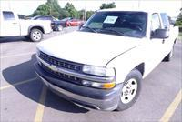 2002 Chevy C1500 Comcast Fleet Club Cab Pickup Truck 209000 miles 350 runs good 16 mpg Weak Paint Chevrolet GM