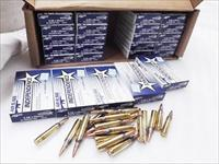 Ammo: .223 Independence Israeli Federal 25 Box Factory Case of 500 rounds 55 grain FMC Full Metal Case Jacket Ammunition Cartridges XM193I $7.96 per box 40 cents a round