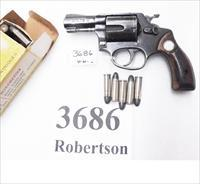 Rossi .38 Special model 68 Blue 2 1/4 in Snub 5 Shot Grips 38 Smith & Wesson Special Caliber 36 Chief's Special Copy Garcia 1971 Non +P
