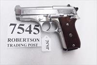 Taurus .380 model PT58 SS Stainless 1580149 Very Good 1 Magazine Wood Grips 1995 Production Extra Magazine Offer