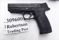 S&W .40 MP40 Night Sights 16 Shot 1 Magazine VG-Exc M&P 40 Smith & Wesson caliber Tiverton RI PD 2007 mfg 209300 type with Night Sights