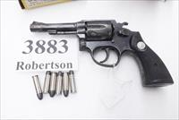 Taurus .38 Special Model 80 Blue 4 inch Pencil Barrel 5 Screw 1982 No Lock 38 Spl 6 Shot Steel Frame 1980s 2800041