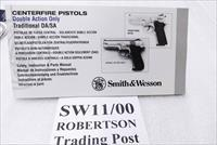Smith & Wesson 4006 5906 Factory 5 Language Instruction Manual 4 Language Italian 2000 Print for 3rd Gen Metal Frame Pistols Unissued