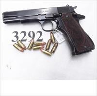 Star 9mm Model B Colt Government Size Steel Frame 1967 Israeli Police & Spanish Guardia GVG 1 Factory Magazine Spain Fair Bore