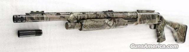 Mossberg 12 gauge model 535 Turkey Thug 3 1/2 inch Tactical Receiver Rail  Camo Pistol Grip Stock