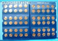 Coins US Lincoln Cents 1941-1976 No S All F-AU 87 Count
