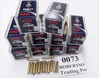 Ammo: .22 Magnum CCI 0073 V-Max 30 grain Poly Point Varmint 500 round brick of 10 boxes 10x$15.90 plus $15 ship 2200 fps 322 ft/lb