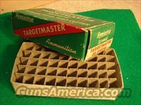 Ammo: Vintage Box & Brass Remington Targetmaster 5 period brass VG-Exc
