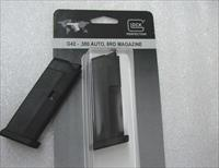 Glock 42 .380 ACP Subcompact  Factory 6 round Magazines MF42006 model 42