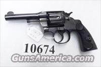 Colt .41 Long Army Special 1916 New Mexico Army Vet Estate Official Police Ancestor Refinish with Owner Marking