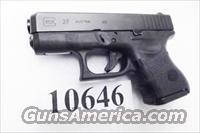 Glock  .40 S&W Model 27 Subcompact 3rd Gen 2002 Excellent in Box 40 Smith & Wesson Caliber sku 27502