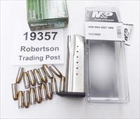 Smith & Wesson SW9 SW9V SW9VE 9mm Factory 16 Shot / Round Magazine Stainless New 19357 S&W