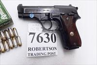 Taurus .380 model PT58 Blue 1580041 Good 1 Magazine Wood Grips 1990 Production Extra Magazine Offer