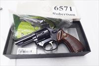 Astra Spain .38 Special Police model Large Frame Revolver 6 Shot 3 inch Blue Steel Walnut Grips Very Good 1985 Spanish Production, Venezuela Homeland Security Issue Original Box +P OK