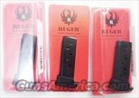 Lots of 3 or more Ruger .380 LCP Factory 6 Shot Magazines NIB 2 Floorplates Each Finger Rest Flat Plate $39 per on 3 or more