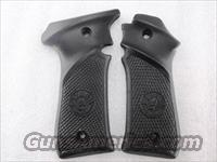 Grips for Llama Especial .32 ACP or .380 New Triple K Black Polymer with Logo 2 1/2 inch Screw Centers 32 380 Automatic