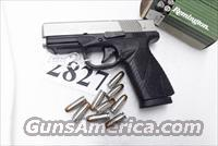 Bersa 9mm model BP9CC Flat Thin Light Compact 9 Shot Duo Tone Nickel Slide 3 Dot 2 Magazines Unfired in Box