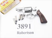 Rossi .38 Special Model 88 Stainless Interarms 38 Special 1988 Pre Lock Stainless Snub