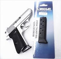 Walther PP or PPKS .32 ACP Mec-Gar 8 Shot Magazines Blue Steel Finger Rest 32 automatic WPP32FRB Buy 3 Ships Free!
