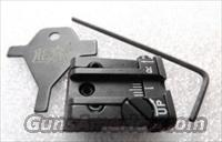 CZ75 Old Model Adjustable Rear Sight LSA Italy Low Profile Micro Style Black New in Box Pre-1998 Pre B Variant Pistols Only .344 / .345 dovetail but .308 Overall Height