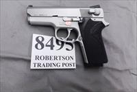 Smith & Wesson 9mm model 3913 Stainless Compact 1992 Second Year Production Very Good Condition 1 Magazine 103730