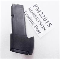 Glock 27 33 Factory 15 Round Magazines with Pro Mag Extension 40 S&W or 357 Sig Gen 4 Glock MF22015 Pro-Mag PM089A Fourth Gen .40 Smith & Wesson or .357 Sig Caliber model 33 Pistols Ambidextrous Mag Release Buy 3 Ships Free!