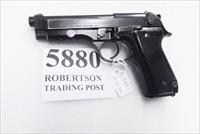 Beretta 9mm model 92S Italy Military Police Italian Carabinieri VG JS92F300M type / ancestor c1978 16 Round 1 Pre-Ban Magazine Factory Gloss Anodized Frame Blue Steel Slide & Barrel VGB