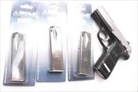 Ruger 9mm 17 Shot Magazines P85 P89 P93 P95 P97 MecGar Nickel Steel XMP8517N