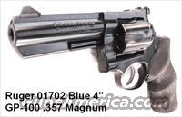 Ruger .357 Magnum GP-100 Blue 4 inch Full Lug Heavy Barrel NIB GP100 GP141 357 Mag 38 Special Interchangeably
