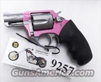 Charter Arms .38 Special Pink Lady variant Undercover Lite Stainless 2 inch 5 Shot Snub Excellent & Unfired in Box with Papers