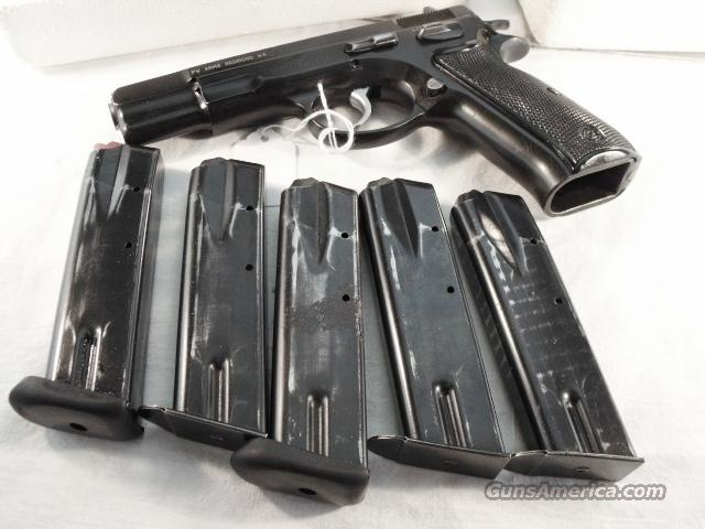 CZ-75 9mm 15 shot Magazine Factory Czech Police Pre-Ban 1990s G-VG  Excellent Mechanically Clip for