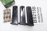 Beretta 92 Magazines ACT-Mag 9mm 15 shot Bright Blue Italian Made Act Mag B9215B Buy 3 Ships Free!
