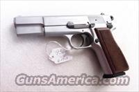 FEG 9mm Hi-Power 1993 Israeli Custom Satin Nickel High Power Clone with New Mec-Gar Magazine PJK9HP Type