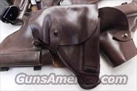 Walther PP Size Holster Russian Military & Police Brown Leather Flap Type for PM Makarov Pistol PPK PPKS CZ50 CZ70 Fits Many 32 380 and 9x18 Makarov Caliber Pistols