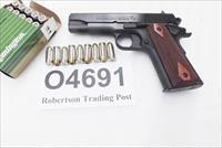 Colt .45 ACP Combat Commander O4691 NIB 2 Magazines $759 - below wholesale Blue Steel Rosewood Grips 45 Automatic Full Government Grip Frame