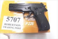 Sig 9mm P-226 All German 16 Shot 1988 Swiss Police Overwritten Factory Orange Box 3 Dot Sight with 1 Factory Magazine E26R9B