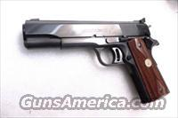 Colt .45 ACP Gold Cup National Match 1967 Production 45 Automatic 5 inch Blue Adjustable Sights Excellent Reblue