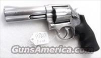 S&W .357 Magnum model 681-1 Stainless 4 inch CAI Stamped 1987 mfg Satin SS Hammer & Trigger 357 Distinguished Service Magnum Aussie