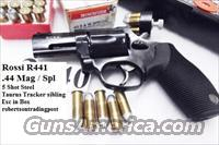 Rossi .44 Magnum model R441 Blue 2 inch Snub .44 Special 720 descendant Excellent in Box with Service Warranty 44 Spl Mag 5 Shot R44102U Taurus 44C Tracker Frame