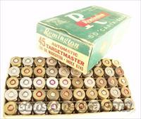 Ammo: Buford Pusser Colleague .45 ACP Nickel Vintage 1960s Box